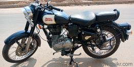 Royal Enfield Classic Battle Green Quikrcars Bangalore