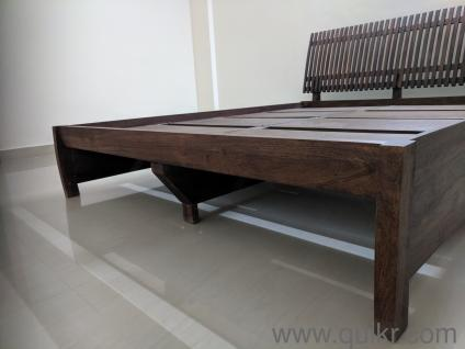 6381ea12b Urgent Sell My FabIndia Sheesham Wood Queen Size Bed In Excellent Condition  Price Is Little Negotiable