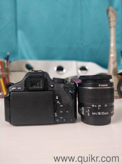 Used Canon 600D in a very neat condition with full kit