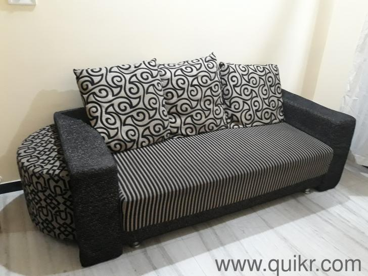 4 seater sofa with puffy for sale - Gently Home - Office ...