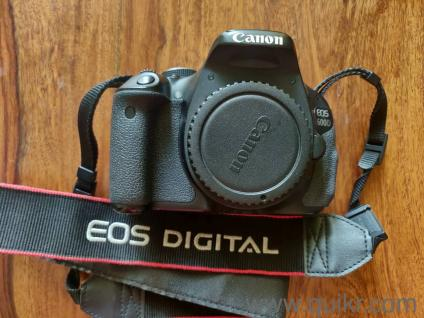 Canon 600D Black with 18-55mm Kit Lens