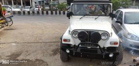 White 2012 Mahindra Thar CRDe 4x4 AC 65,000 kms kms driven