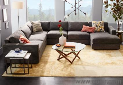 Urban 6 Seater Sectional Sofa by Furniture world