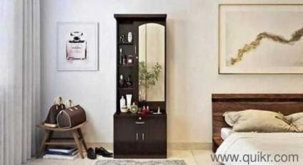 Dressing Table With Storage For Sale Black Finish