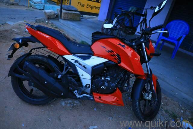 2018 TVS Apache RTR 160 4V 15,000 kms kms driven in Ambattur