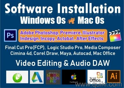 Windows Os Install and Mac Os Installation Software Services
