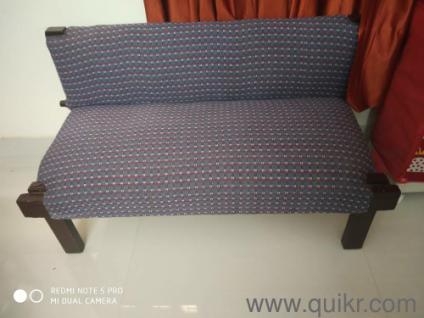Teak Wood Sofa Set 4 Seater