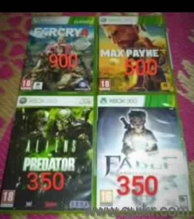 used xbox 360 games | Used Video Games - Consoles in Goa