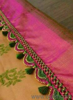 saree kuches 50 designs pattern we do very less price
