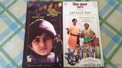 7 Original bengali movies, 2 Charlie chaplin movies and 4 music