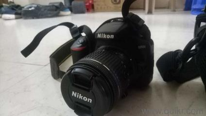 New Nikon d3500 just 20 days of buying with lens 18-55 mm ,carry  case,battery charger