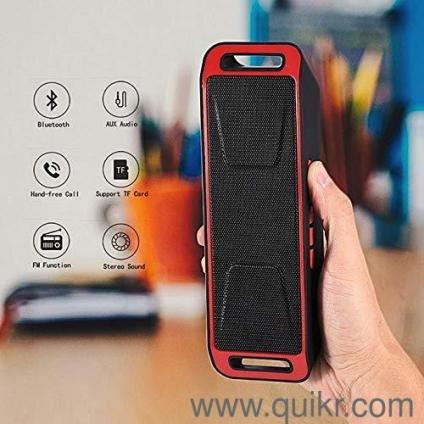 S207 Multifunction Bluetooth 4 0 Speaker with FM, Aux, USB and Support TF  Card Playing MP3