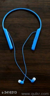 Catalog Name : *Latest Universal Bluetooth Wireless Earphones Vol  12*Product Type : NECKBAND Bluetooth HeadsetsModel no C400 Material :  Plastic Size :