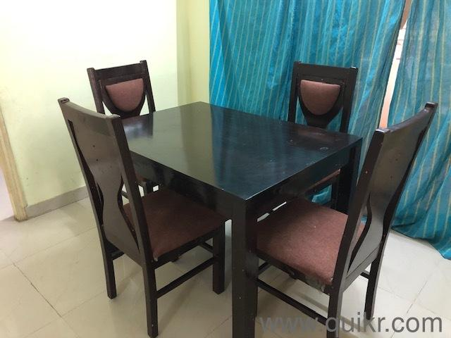 gently used 4 seater dining table available for sale