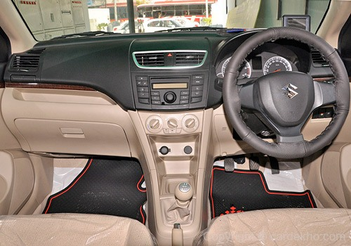 Maruti Suzuki Swift Dzire Interior Images