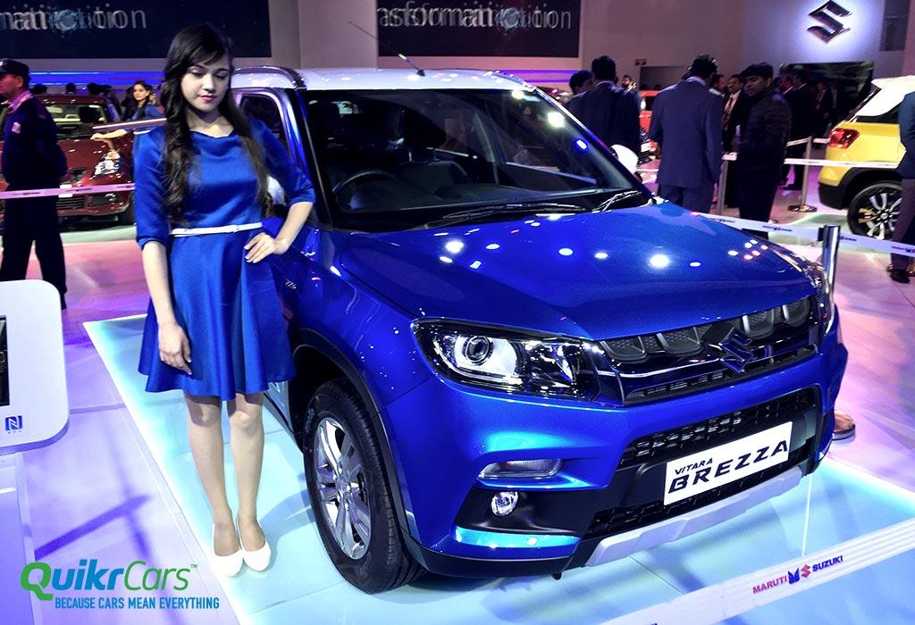 Maruti Suzuki Vitara Brezza Price In Ranchi Variants Images