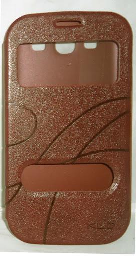 Oscar Flip Cover for Apple Apple iPhone 5s (Brown)