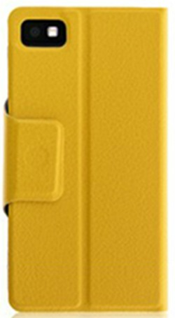 san francisco 3fabf 5f814 Calling Case Flip Cover Apple iPhone 5c (Yellow) for Exchange in www ...