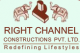 Right Channel Constructions Pvt Ltd - Logo