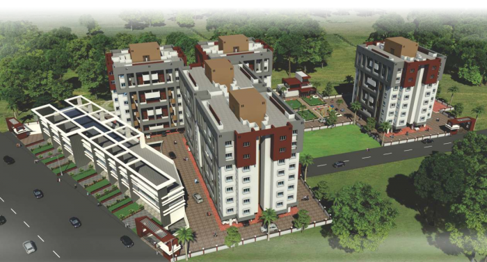 The Construction Verve Apartments, Wakad, Pune