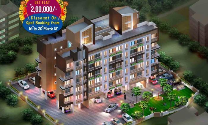 Om Sai Charan Complex Building No 3, Mira Bhayandar, Mumbai