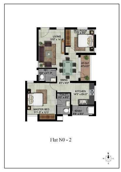 Mayfair Apartments in OMR